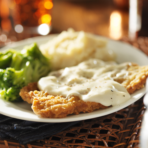 Blend Pak PEPPER GRAVY ON COUNTRY FRIED STEAK