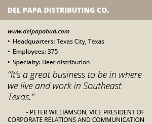Del Papa Distributing info