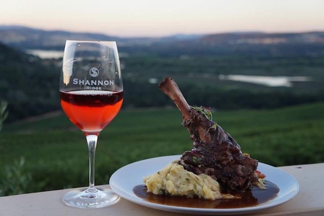 Shannon Ridge Vineyards Ranch Lamb Shank copy