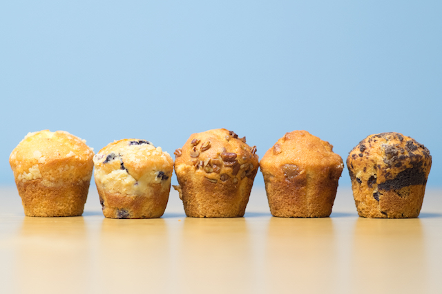 The Muffin Mam Simply Souther Clean Label Lemon Crunch.Blueberry Struesel.Banana Nut. Apple Cinnamon. Chocolate Chip copy