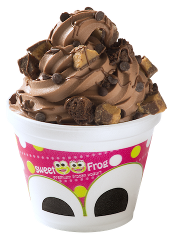 sweetFrog chocolateyogurtcup copy