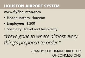 Houston Airport System info