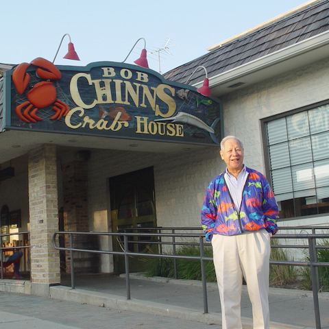 Bob Chinn at Bob Chinns Crab House