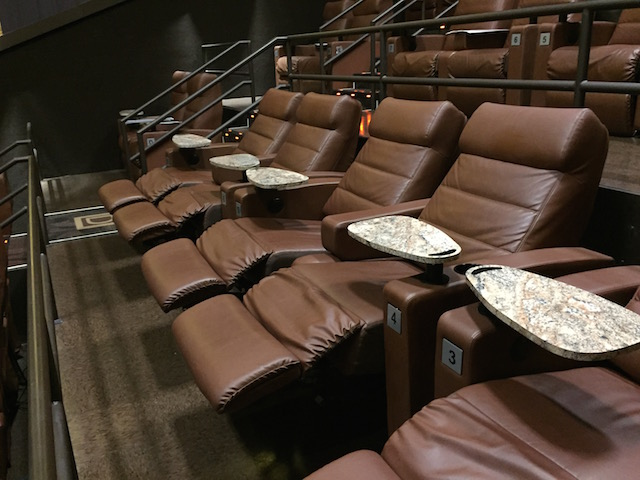 Frank Entertainment Group Dine and Recline seats