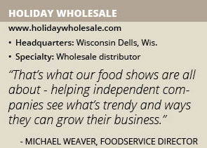 Holiday Wholesale info