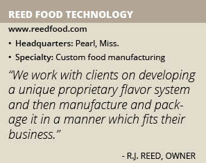 Reed Food Technology