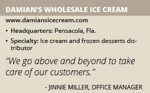 Damians Wholesale Ice Cream info