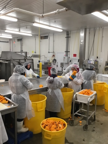 Eastland Food Products processing