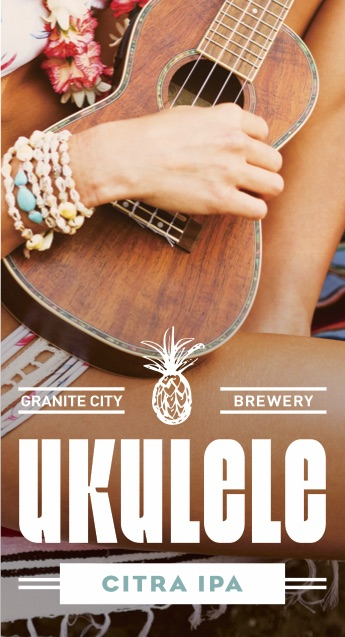 Granite City Food and Brewery Ukulele