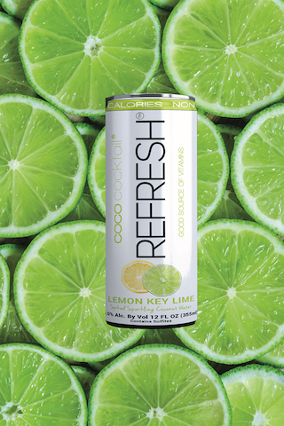 Healthy Beverages green can