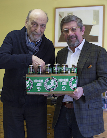 Brooklyn Brewery Milton Glaser and Steve Hindy