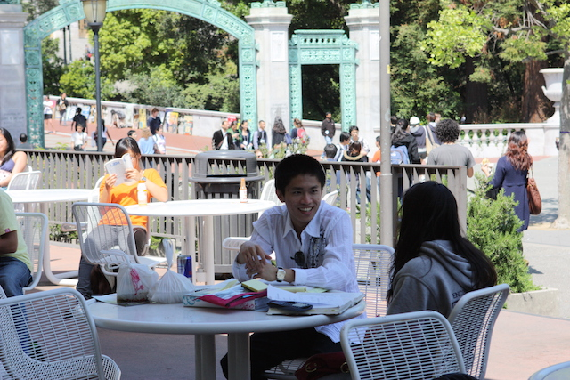 Cal Dining outdoors