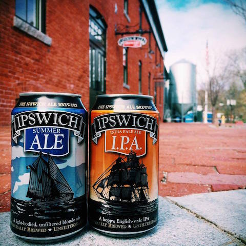 Ipswich Ale Brewery cans