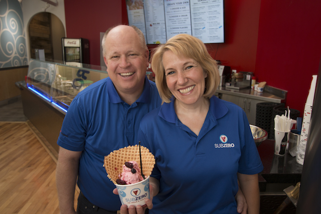 Sub Zero Ice Cream founders Jerry and Naomi Hancock