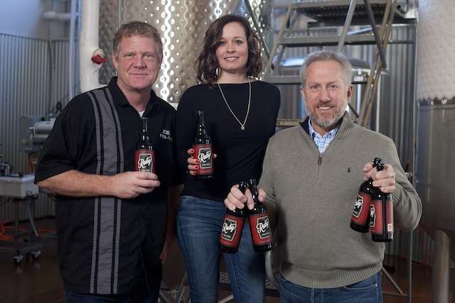 MTN WST Cidermaker Joel Goodwillie and Owners Jennifer and Jeff Carleton copy