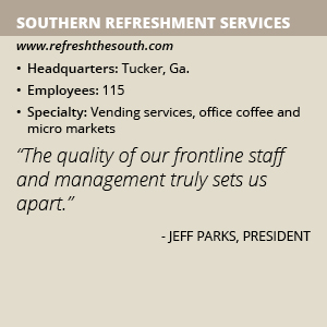 Southern Refreshment Services info