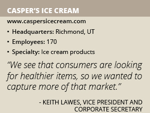 Caspers Ice Cream info