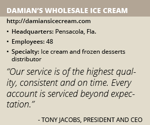 Damians ice cream