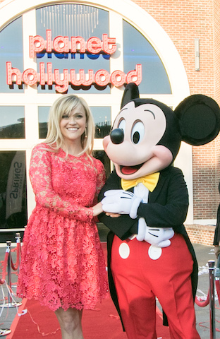 Planet Hollywood Reese Witherspoon