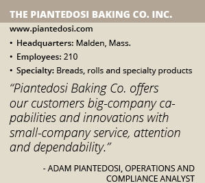 The Piantedosi Baking Co info