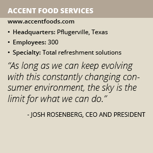 Accent Food Services info