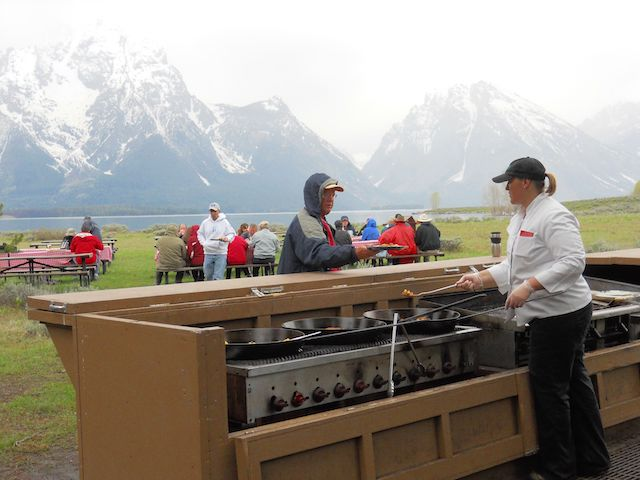 National Park Service Grand Teton NP Elk Island Tour Breakfast