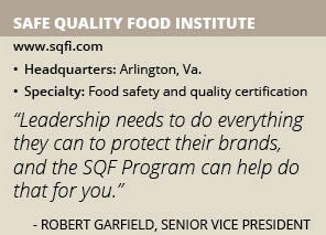 Safe Quality Food