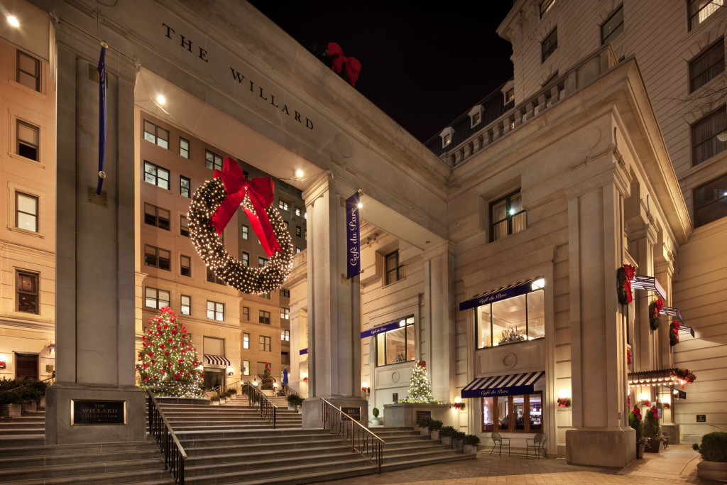 Willard InterContinental - Holiday Exterior