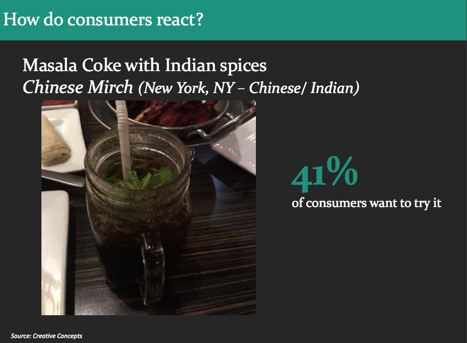Global Food and Flavor Trends Coke