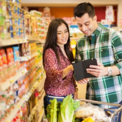 Who is the 'Digitally Engaged Food Shopper?'