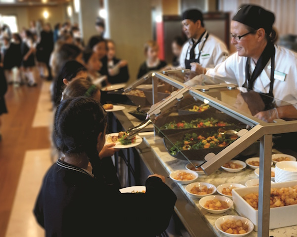 SAGE Dining Services line